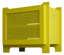 yellow media cabinet custom furniture denver